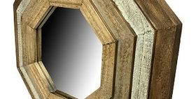 20097 Medium Octoganal Step Mirror