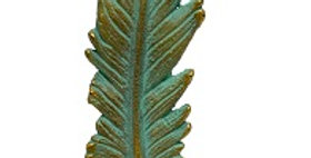 21019 Cast Iron Feather Paper Weight