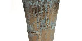 65006 Caribbean Copper Medium Oval Vase