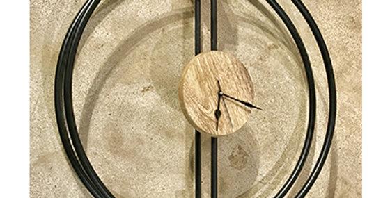 71024 Orbit Wall Clock - Black