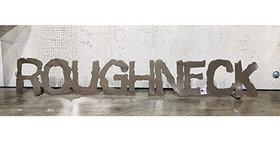 85679 Roughneck Shelf Sign - Dark Bronze - 55679