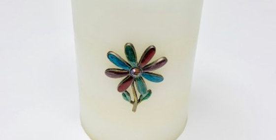 693857 CANDLE PIN (FLOWER)