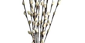 41182 12 Stem Hibiscus Bud Branch Drop-in Bouquet