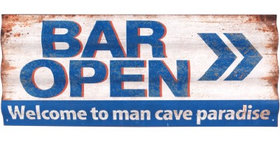 694869 Bar Open Wall Corrugated Me