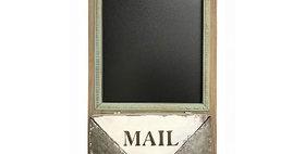 10371 Wall Chalkboard/Letter Rack