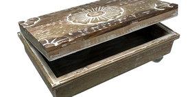 67053 HINGED BOOK BOX