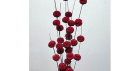 41114 10 Stem/30- 1 RED Heads Kadam Blossom Drop-in Bouq