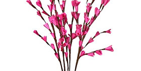 41108 6 Stem Pink Palm Lili Flower Branches