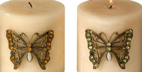 693349 CANDLE PIN(BUTTRFLY)4PCS