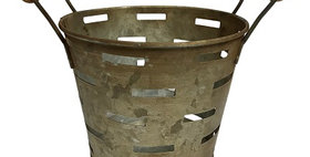 50047 Double Handled Mini Olive Bucket