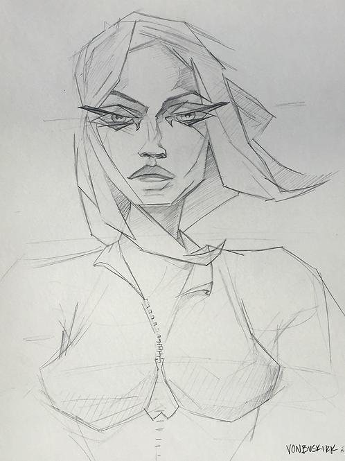 Musing Sketch