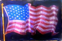 Marquis flag live_painting_med_vonbuskirk