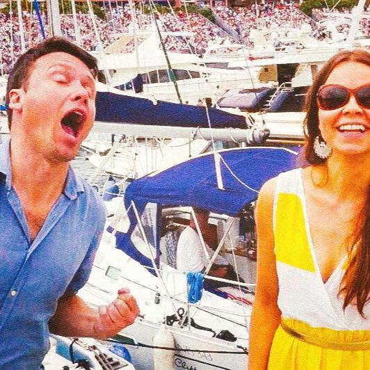 Scott & Miia in Monaco
