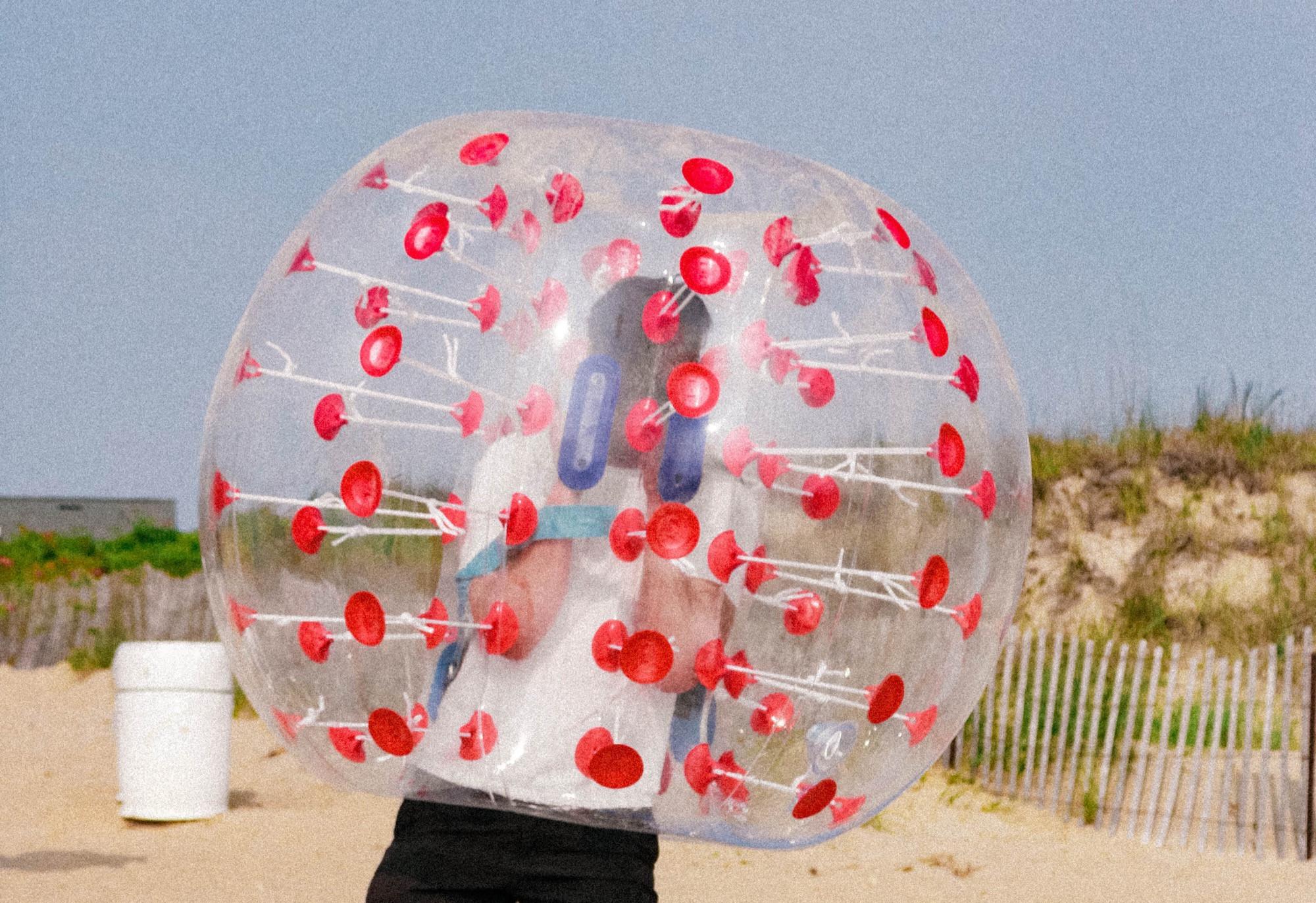 6 Giant Bubble Balls