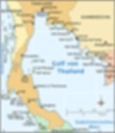 Der Golf von Thailand