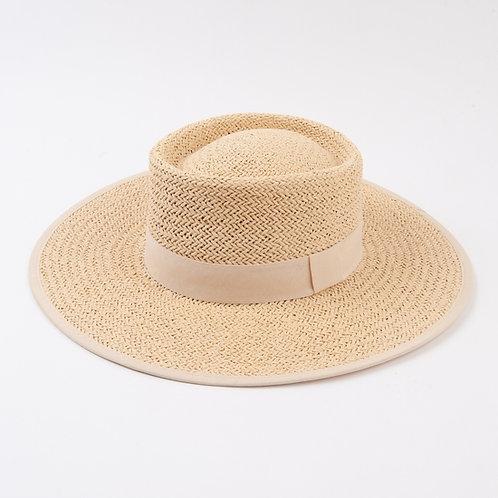 Karlie II Summer Boat Hat - Ivory