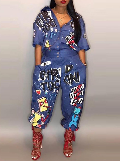 I Love the 90s Jumpsuit