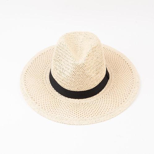 Straw Hat - Ivory