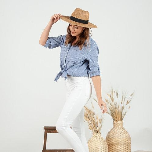 Mediterranean Sun Straw Hat - Tan