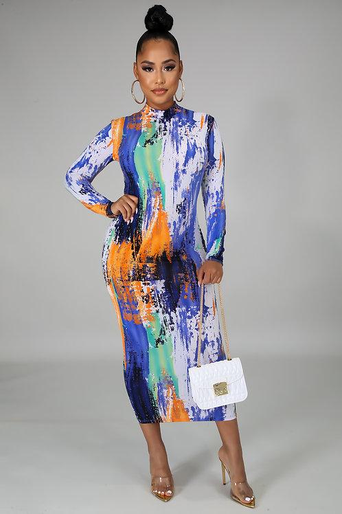 Body Paint Dress