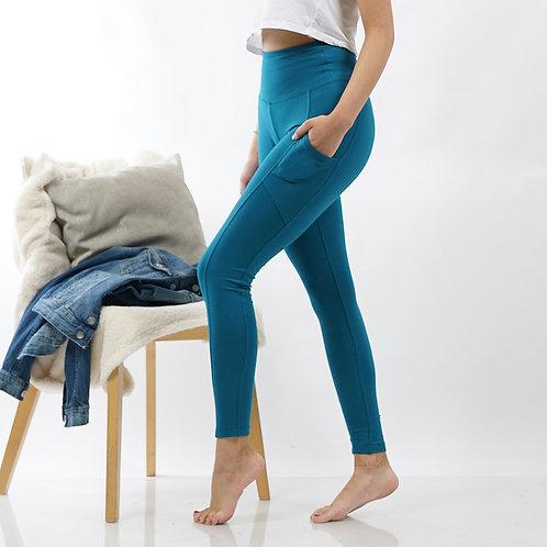 Tummy Control Side Pocket Leggings