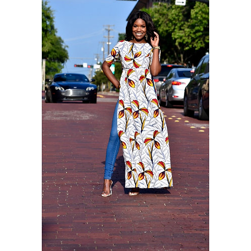 African Print Doni Top