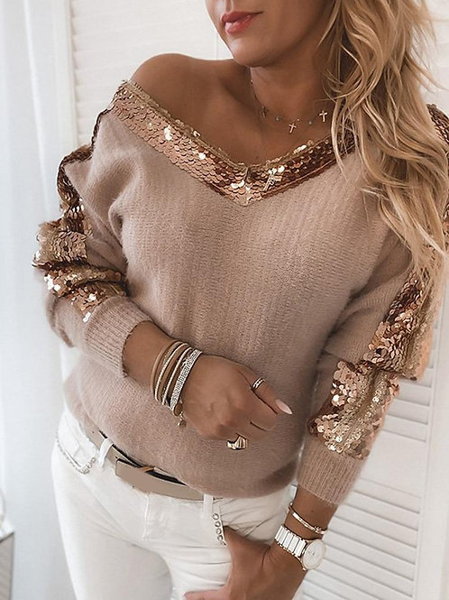 Adrienne Sequence Sweater