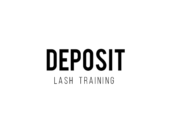 Lash Training Deposit