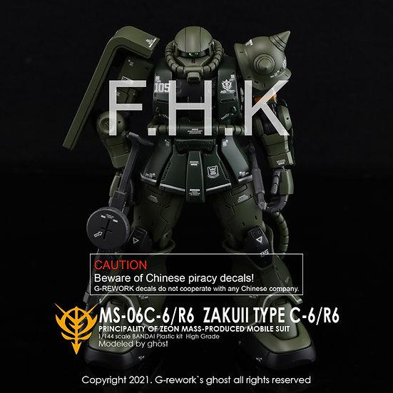 HG MS-06C-6/R6 ZAKUII