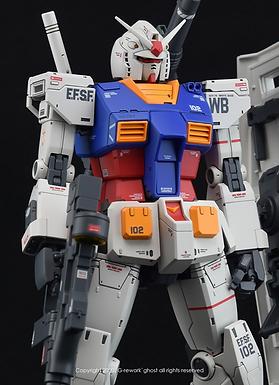 [MG] THE ORIGIN GUNDAM RX-78-02 [Unleashed. Ver]