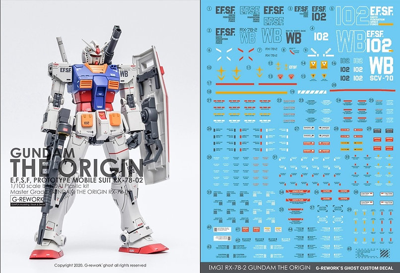 [MG] THE ORIGIN GUNDAM RX-78-02