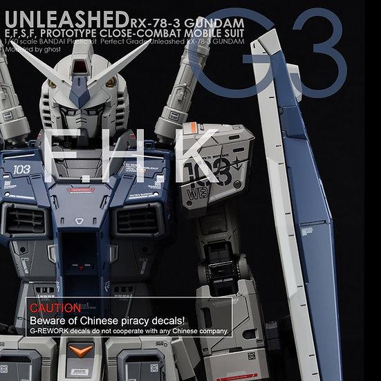 [PG] UNLEASHED RX-78-2 GUNDAM G3 Ver