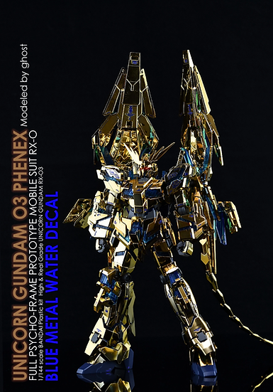 [RG], [1/144] UNICON 03 PHENEX NT- BLUE METAL COLOR