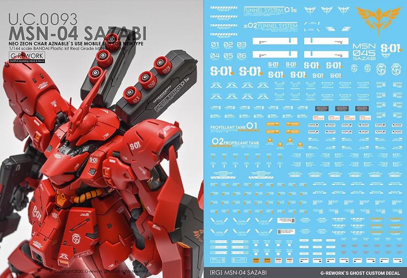 [RG] MSN-04S SAZABI