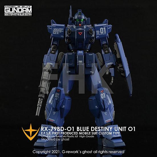 [HG] RX-79 BD-01 [BLUE DESTINY]