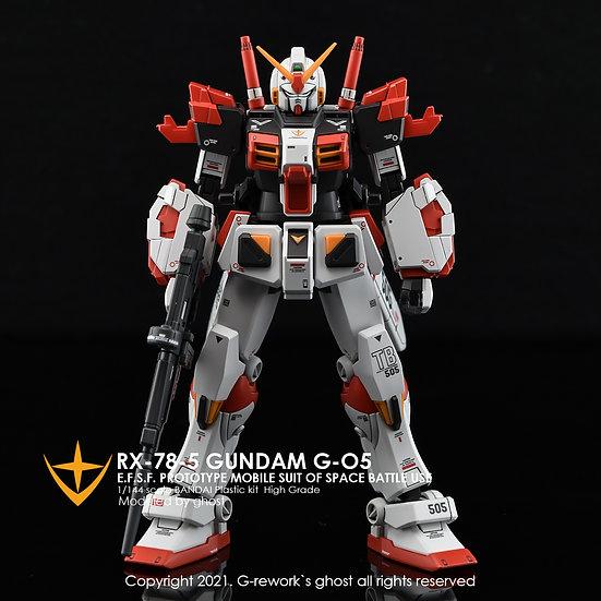 [HG] RX-78-04/05 FULL SET