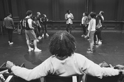 Daveed Diggs watches Bars Workshop
