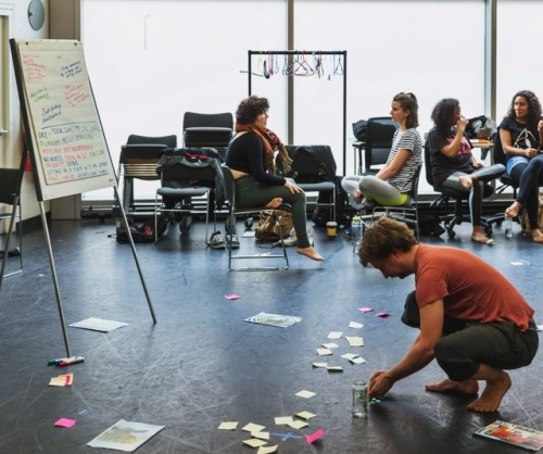 Devising at National Theatre(London)