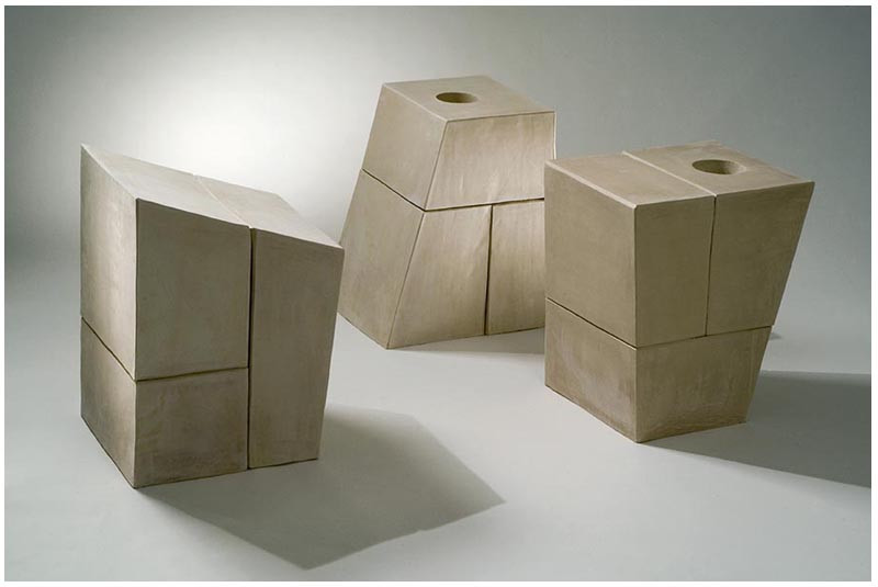 'Structures' | The fourth Biennial for ceramic art,2006, Israel