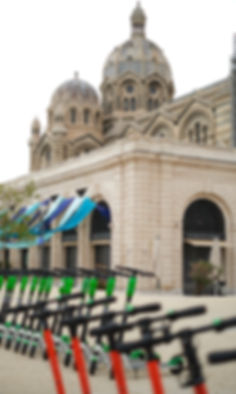 Cathedrale de la major Joliette Marseille