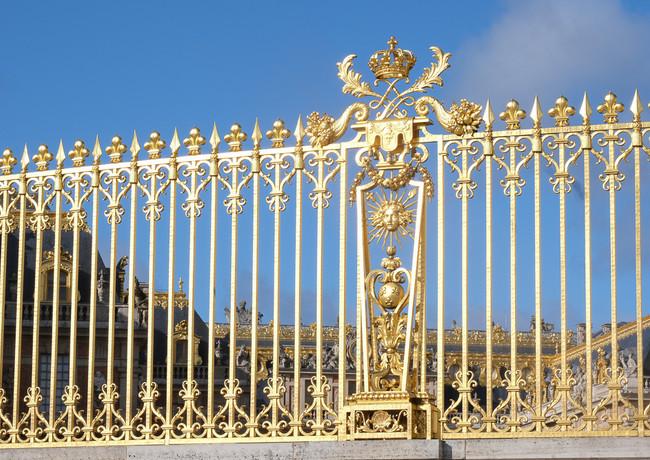 Aux portes du Chateau de Versailles