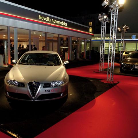 Inauguration Concession Alfa Roméo Boulo