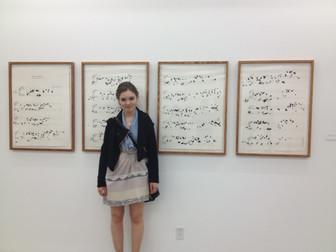 installation: memorized lines, 2013