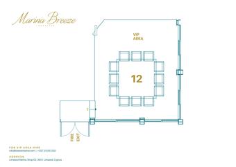 Marina VIP Area Floor Plan