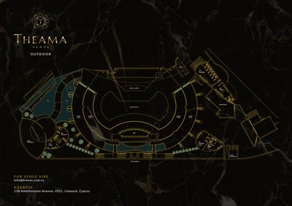 Theama Venue Outdoor Floor Plan