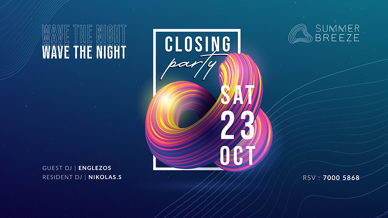 CLOSING PARTY SUMMER BREEZE FINALE