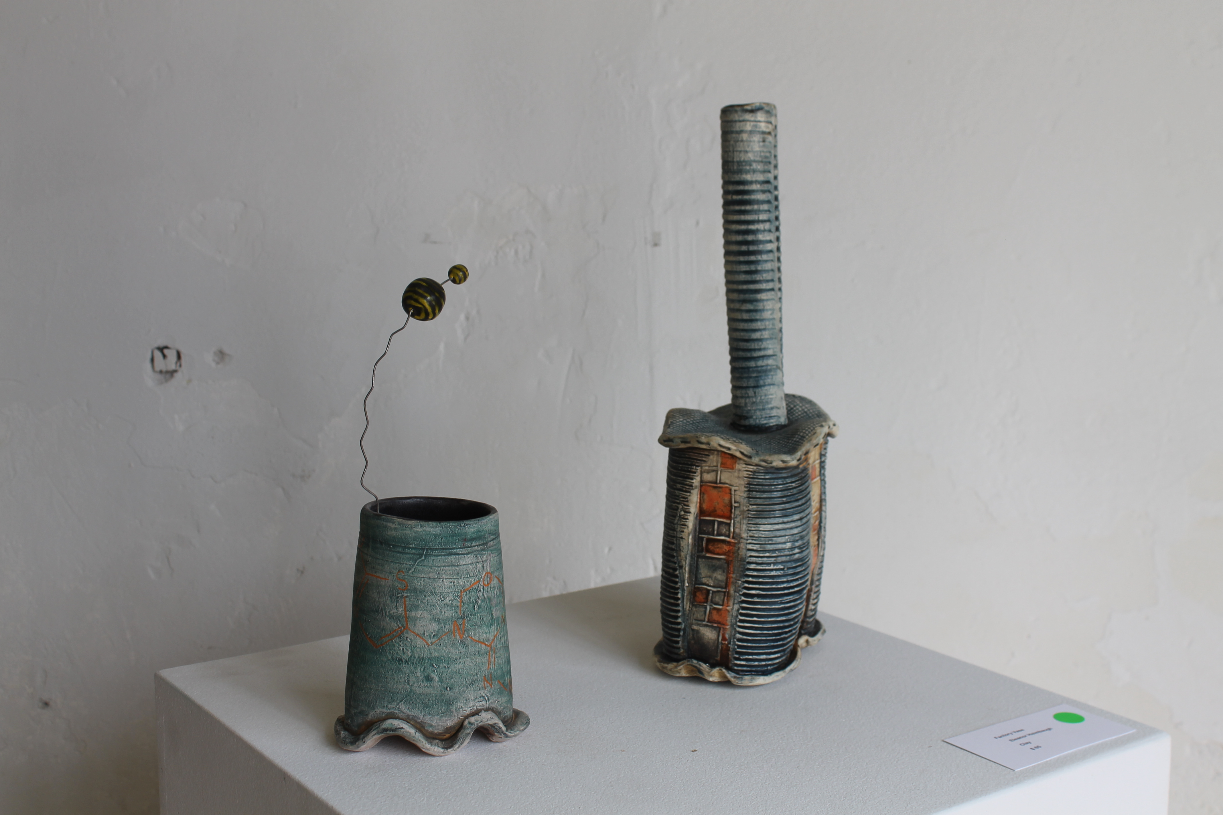 """Honey pot"" and ""Factory Vase"""