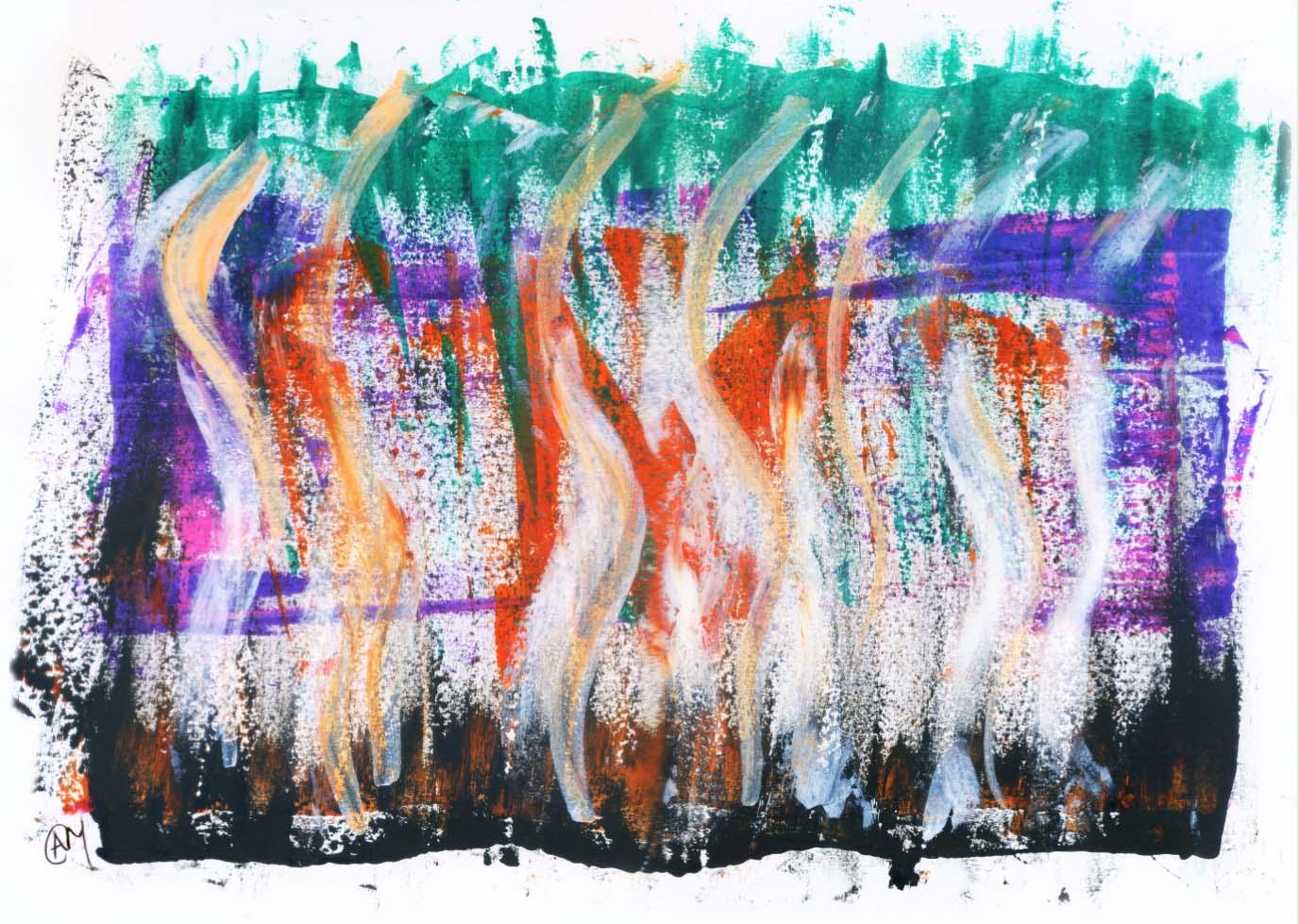 Flames of Passion - Nancy Badran