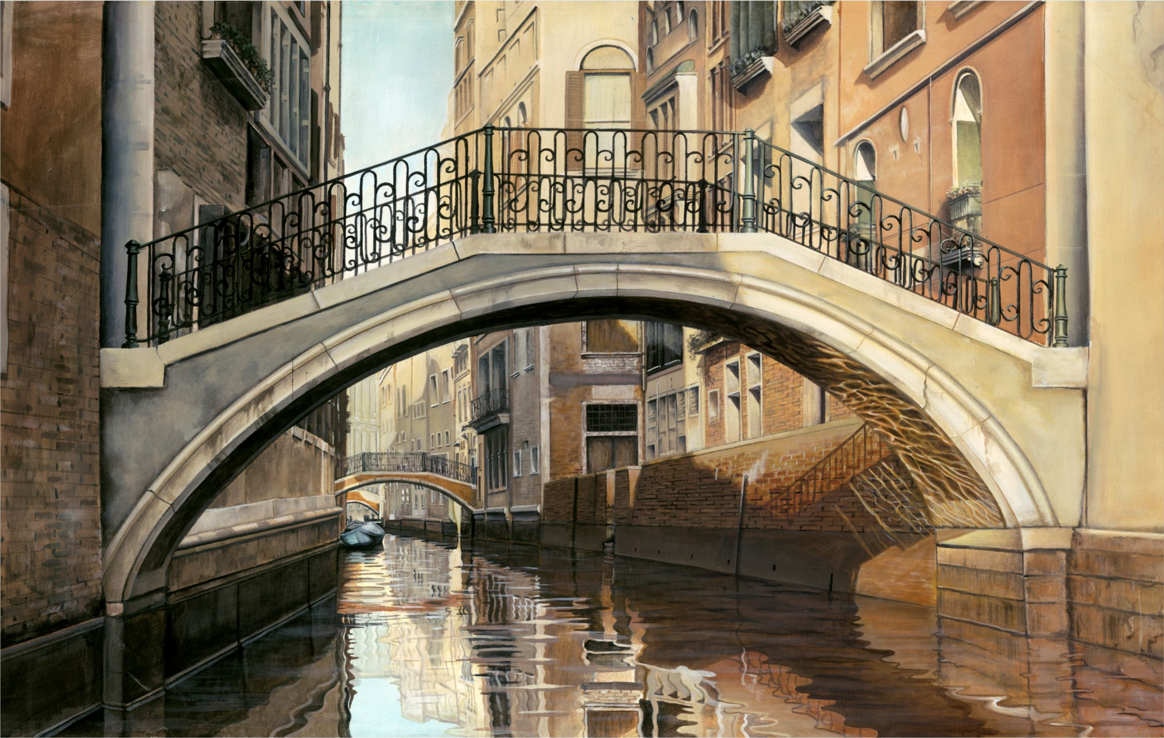 Venice Bridge - Micheal Neamand
