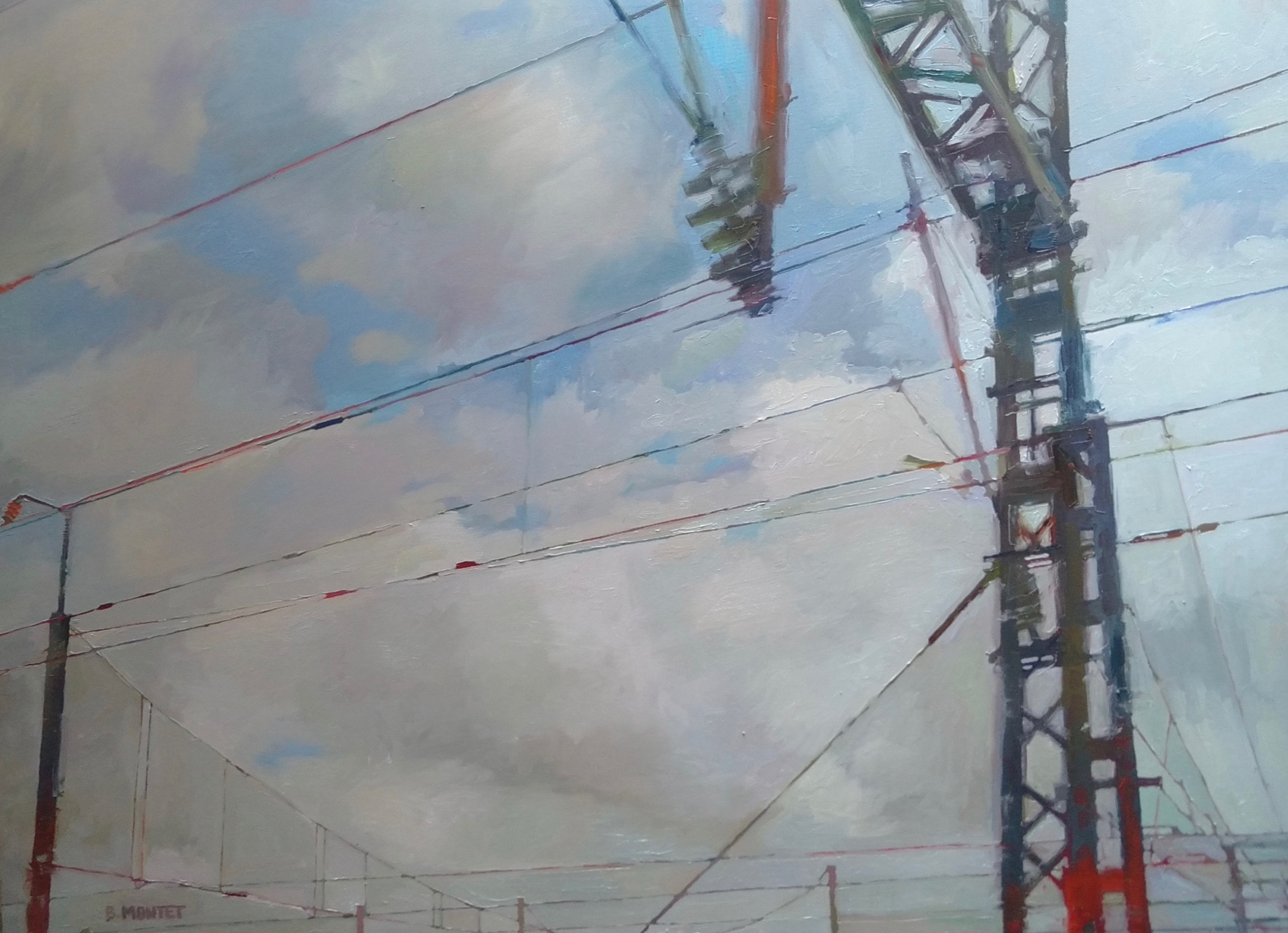 Electric line - Benoit Montet